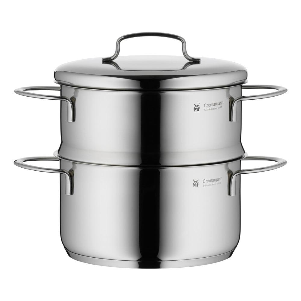Nerezový hrnec na vaření v páře s pokličkou WMF Cromargan® Mini, ⌀ 16 cm