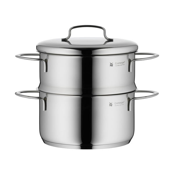 Antikoro hrniec na varenie v pare s pokrievkou WMF Cromargan® Mini, ⌀16 cm