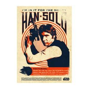 Nástěnná cedule Star Wars Legends - Han Solo