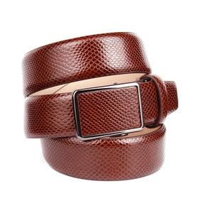 Pánský kožený pásek 37V30 Brown, 90 cm