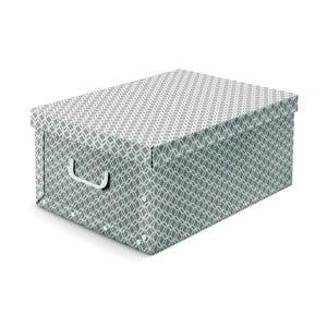 Šedá úložná krabice Cosatto Geo, 50x40cm