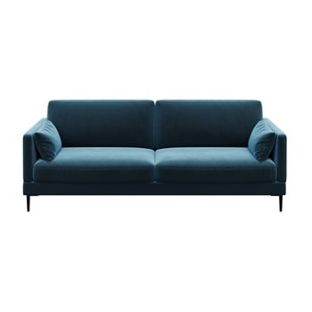 Canapea cu 3 locuri Levie albastru închis