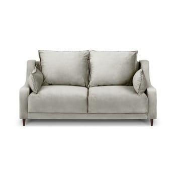 Canapea cu 2 locuri Mazzini Sofas Freesia, gri deschis de la Mazzini Sofas