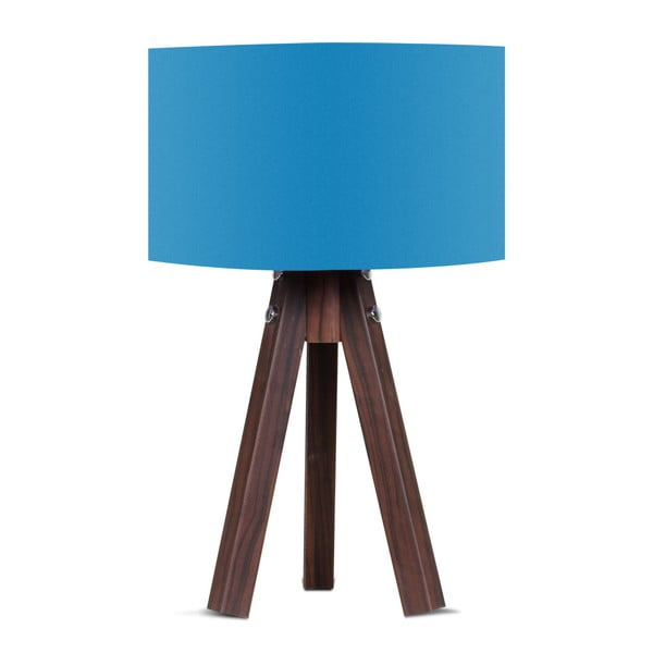 Stolní lampa s modrým stínítkem Kate Louise Kahve