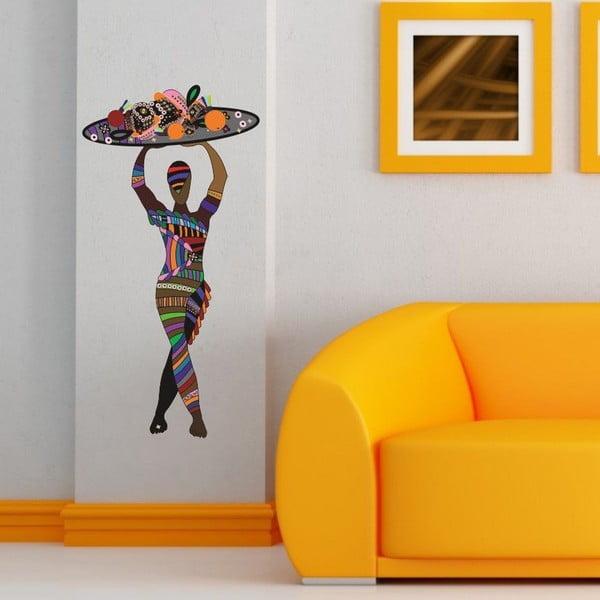 Dekorativní nálepka na stěnu Colorfull Women