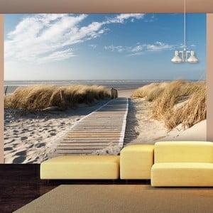 Tapet format mare Artgeist North Sea beach, Langeoog, 400 x 309 cm