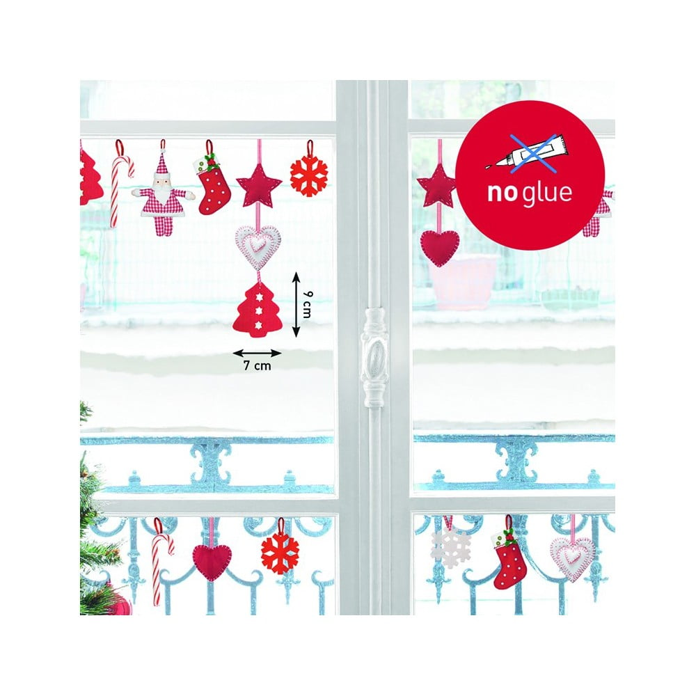 Elektrostatick samolepka postershop cukr tka bonami - Adesivi natalizi per finestre ...