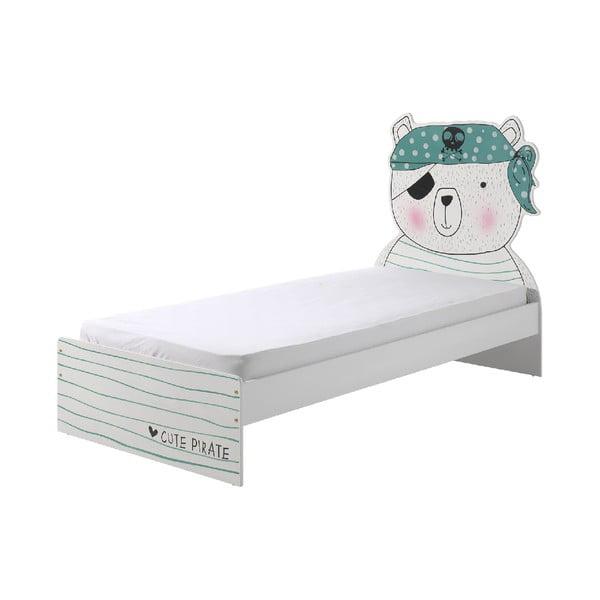 Łóżko dziecięce Vipack Pirate, 90x200 cm