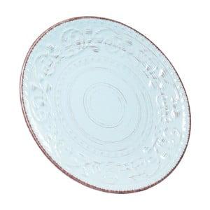 Tyrkysový kameninový talíř Kare Design Desire, Ø 21 cm