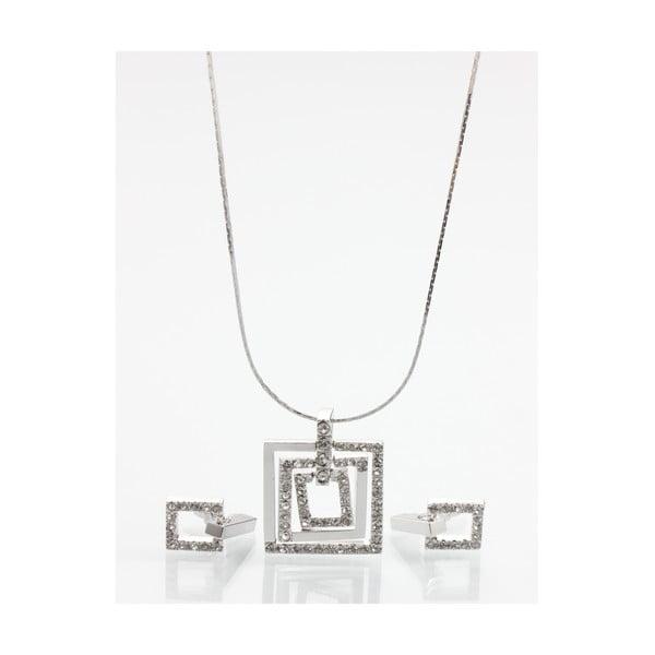 Set náušnice a náhrdelníku Laura Bruni Elegant