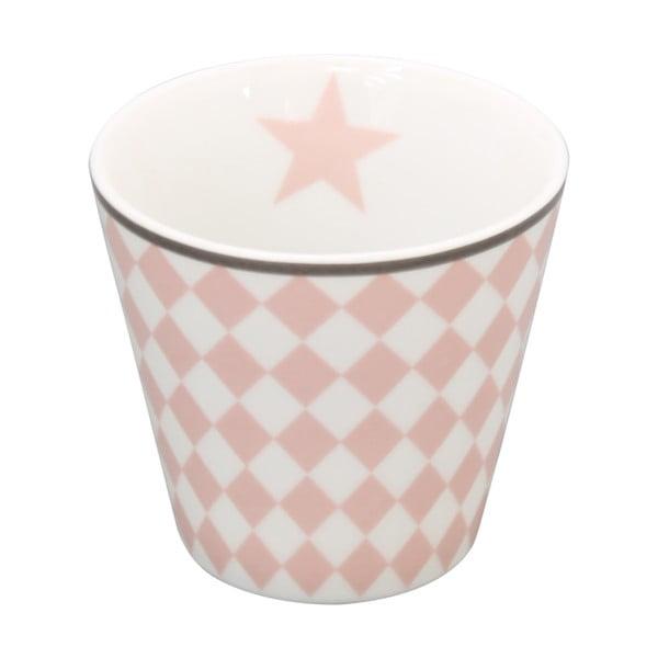Hrnek na kávu Krasilnikoff Pink Harlekin