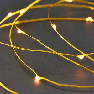 Světelný řetěz v barvě mosazi HouseDoctor String