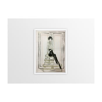 Tablou Piacenza Art Chanel Suitcases,30x20cm