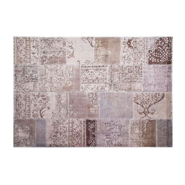 Vlněný koberec Allmode Grey, 180x120 cm