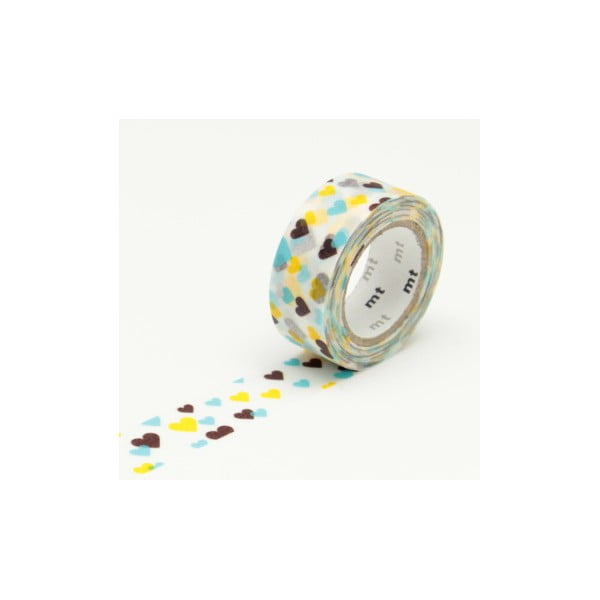 Bandă washi MT Masking Tape Hearts