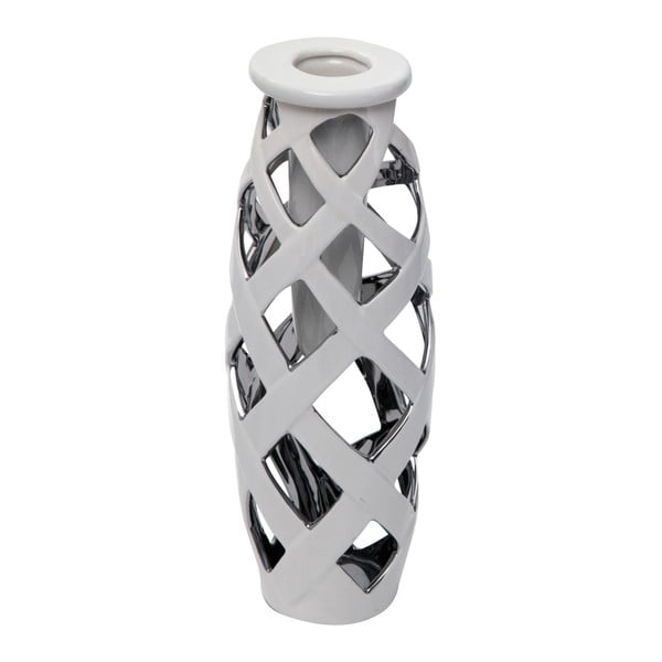 Web Picc kerámia váza, magasság 31,5 cm - Mauro Ferretti