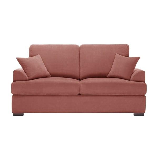 Sofa 2-osobowa Jalouse Maison Irina, różowa
