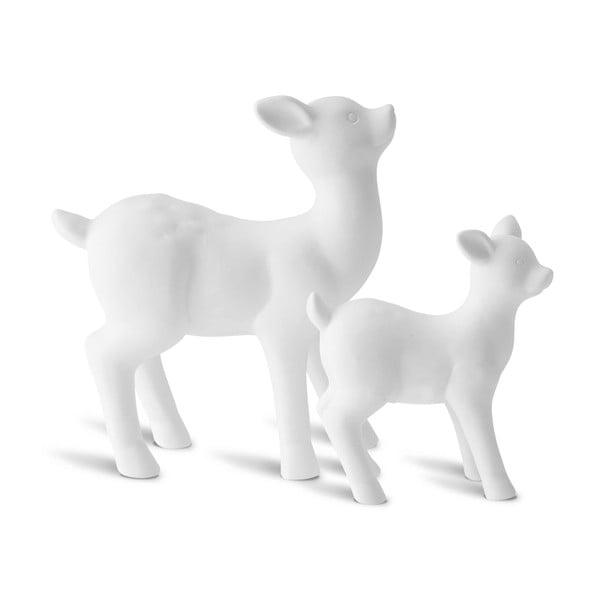 Sada 2 dekorativních sobů Deer Mom
