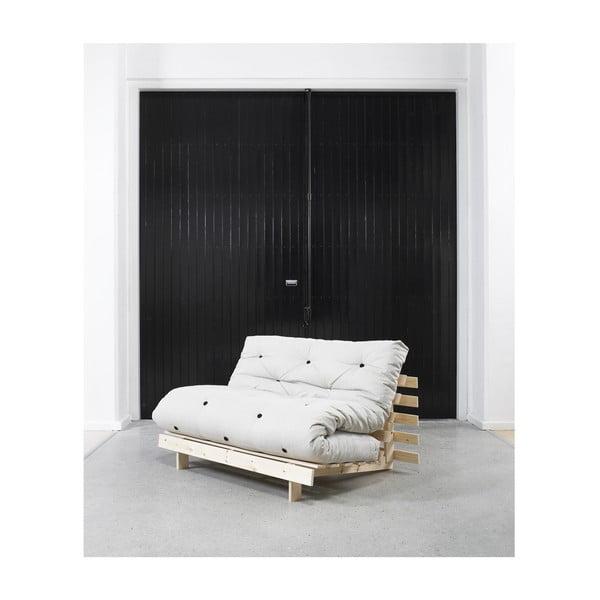Sofa/postel Roots, přírodní/flax