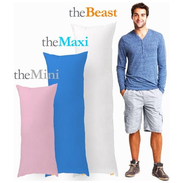 Polštář The Maxi, šedý, vhodný pro osoby do 183 cm