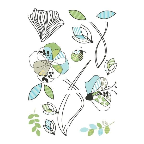 Samolepka Patterm Flowers