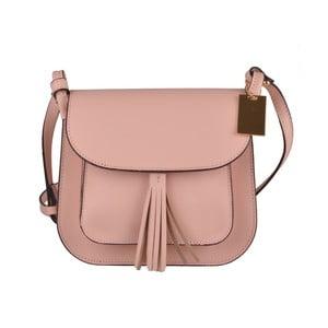 Růžová kabelka Matilde Costa Perlen