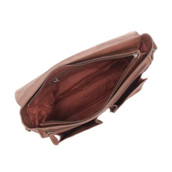 Kožená taška Midhurst Brown