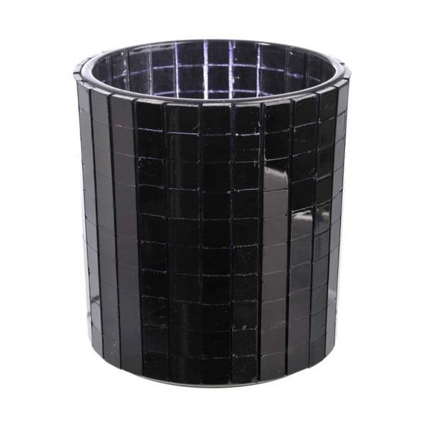 Svícen Mirror Black, 7,2x8 cm
