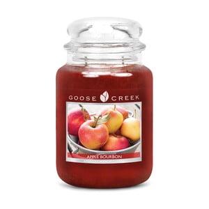 Vonná svíčka ve skleněné dóze Goose Creek Jablečný bourbon, 0,68 kg