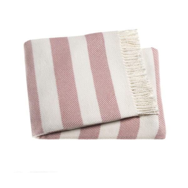 Růžová deka Euromant Candy, 140x180cm