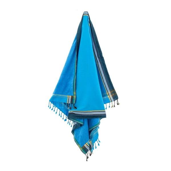 Ručník Ashan Blue, 100x178 cm