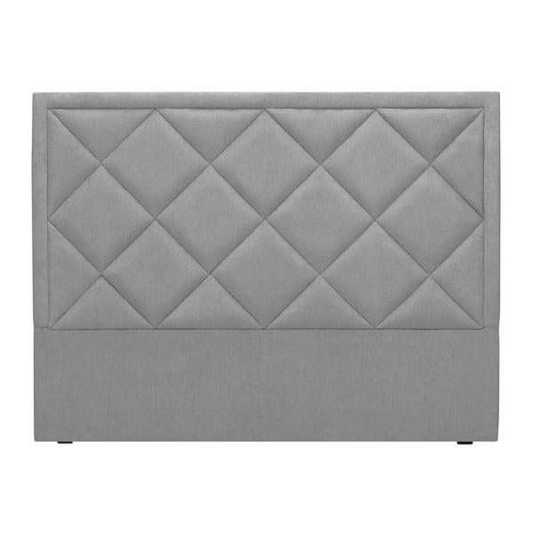 Světle šedé čelo postele Windsor & Co Sofas Superb, 160 x 120 cm