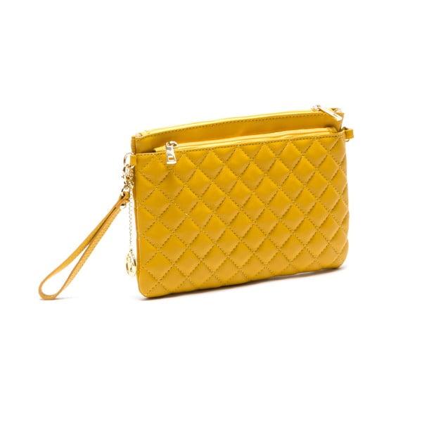 Kožená kabelka Flair, žlutá