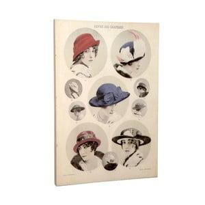 Plátno Hat, 50x70 cm