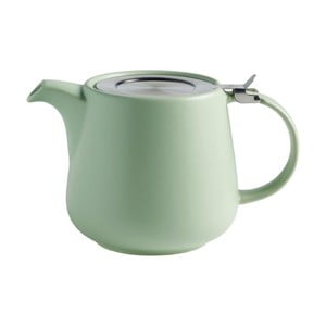 Zelená keramická konvice se sítkem na sypaný čaj Maxwell&Williams Tint, 1,2l