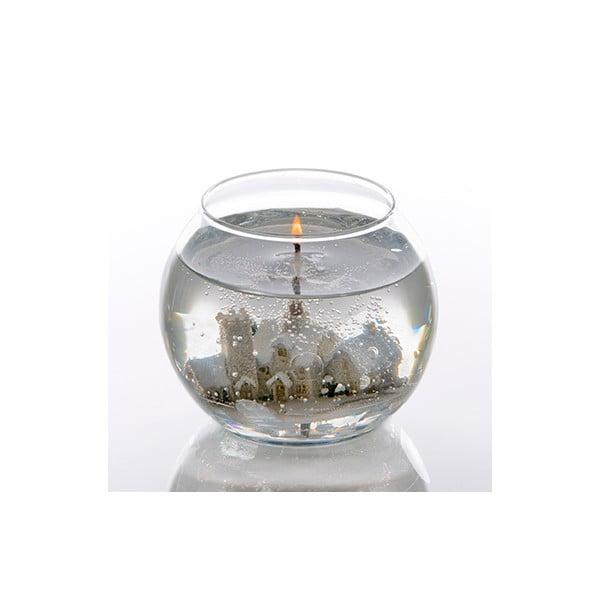 Kulatá svíčka Snowscene, 24 hodin hoření