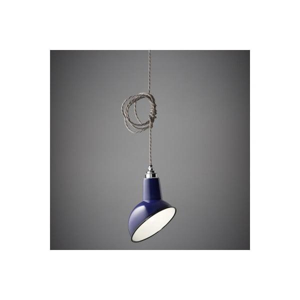 Závěsné světlo Miniature Angled Cloche Midnight Blue