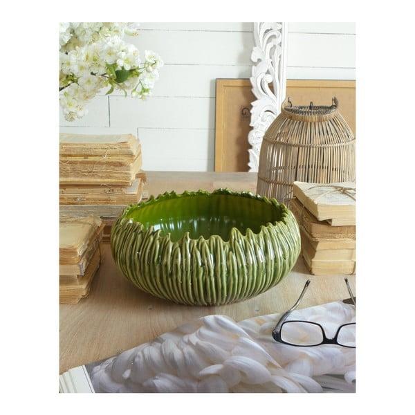 Bol din ceramică Orchidea Milano Cactus, ⌀ 32 cm, verde