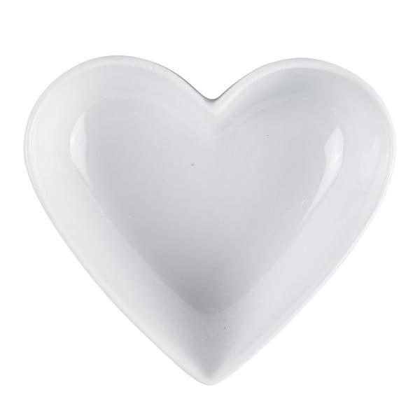 Velká zapékací a servírovací mísa KJ Collection Heart, 400ml