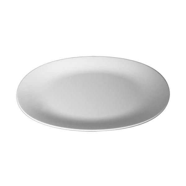 Oranžový servírovací talíř Entity, 35.5 cm