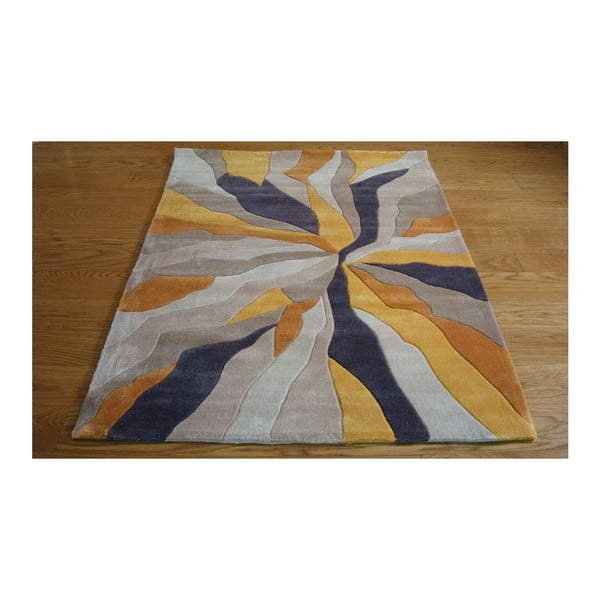 Koberec Splinter Ochre, 80x150 cm