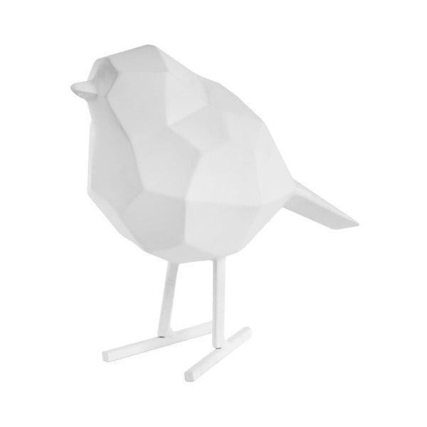 Bílá dekorativní soška PT LIVING Bird Small Statue