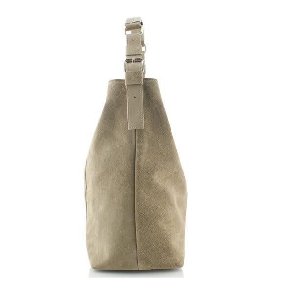 Kožená kabelka Boscollo Cream 3188