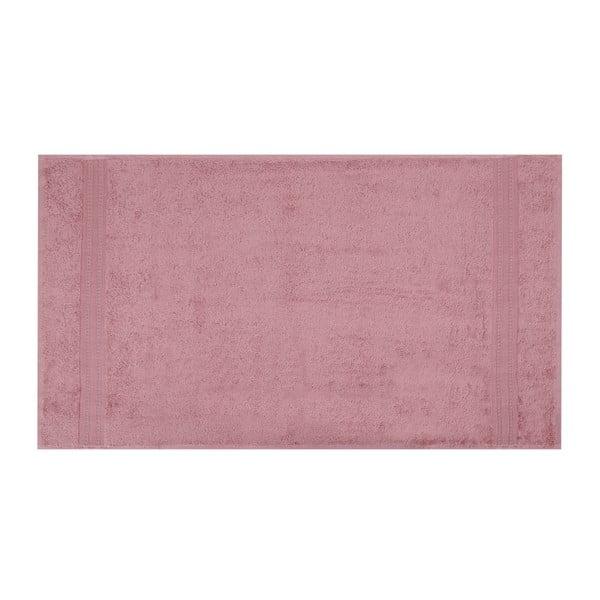 Ciemnoróżowy ręcznik Lavinya, 70x140cm