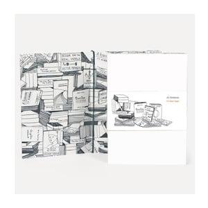 Poznámkový blok U Studio Design Books, 14,5 x 20,5 cm