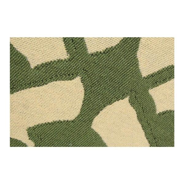 Koberec Agac Green Beige, 80x150 cm