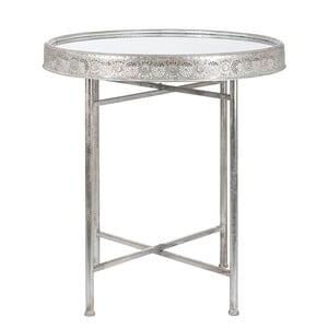 Odkládací stolek Orient, stříbrný