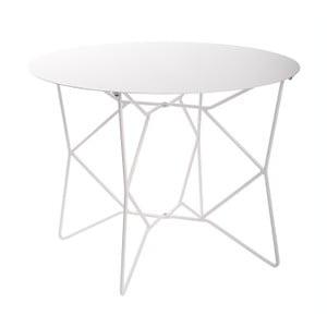 Bílý kovový stolek Zuiver Webframe