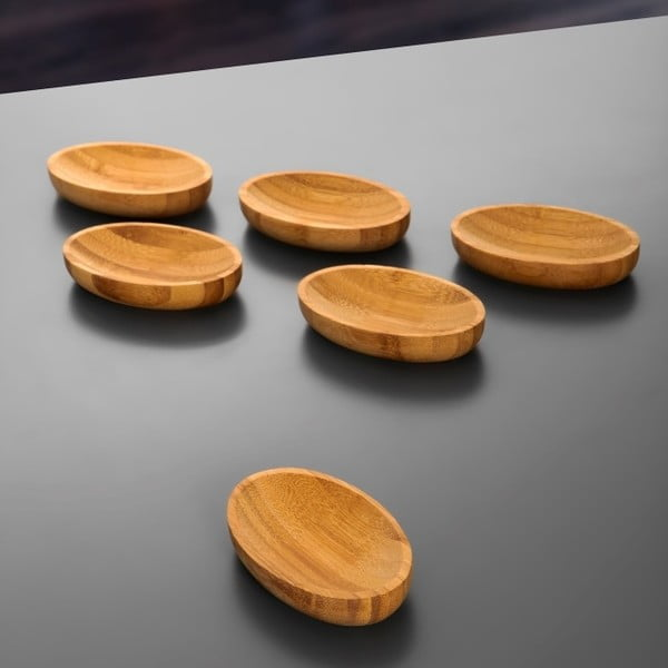 Sada 3 bambusových misek Peka