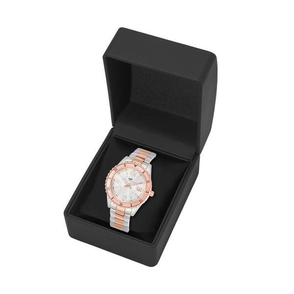 Dámské hodinky ve stříbrné a růžové barvě Rhodenwald & Söhne Majestia